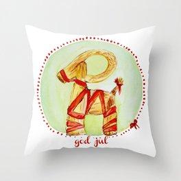 Jul Bok Throw Pillow