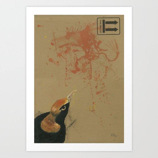 Empty Shell - 1 Art Print