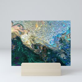 Sea Nymph Abstract Mini Art Print