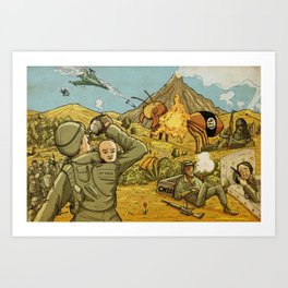 #ISIS #ISIL #IS #WHATEVER Art Print