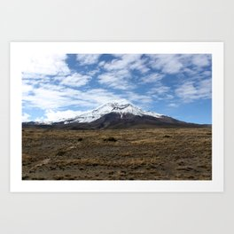 Chimborazo Art Print