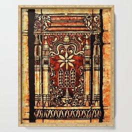 Bohemian Carvings Serving Tray