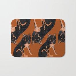 Black dingo (c) 2017 Bath Mat