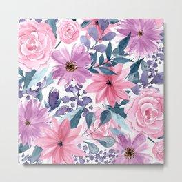 FLOWERS XII Metal Print