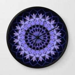 Mandala Path of enlightenment Wall Clock