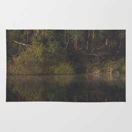 autumn refections Rug