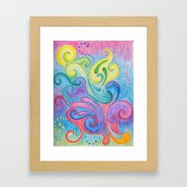 Whirls N Swirls Framed Art Print