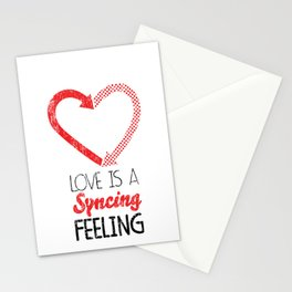 in sync Stationery Cards