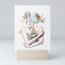 Inner beauty-collage 2 Mini Art Print