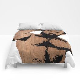 wooden alex Comforters