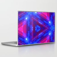 dna Laptop & iPad Skins featuring DNA DREAMS by Chrisb Marquez
