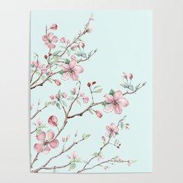 Apple Blossom #society6 #buyart Poster