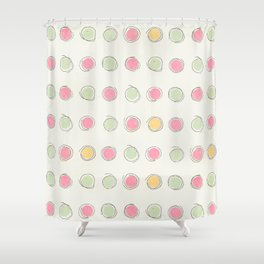 Concentric (circles) Shower Curtain