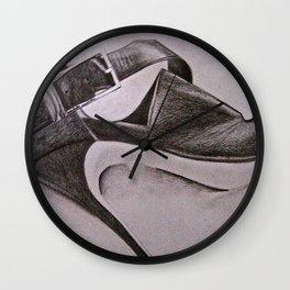 Black Heel Wall Clock