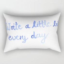Writing motivation #2 Rectangular Pillow