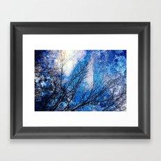 Wild Winter Framed Art Print