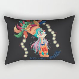 Welcome Carnaval Rectangular Pillow