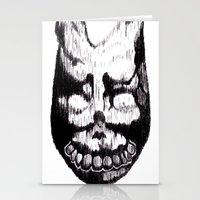 donnie darko Stationery Cards featuring Donnie Darko Frank by Froleyboy