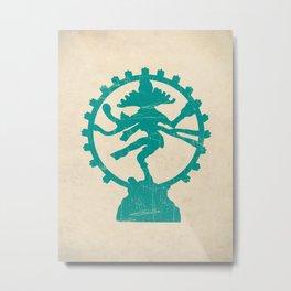 Dancing Shiva Art Print Metal Print