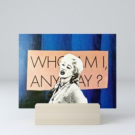 Who Am I Mini Art Print