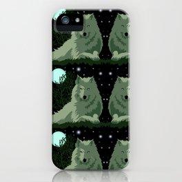Wolf Vector Animals iPhone Case