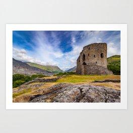 Dolbadarn Castle Art Print