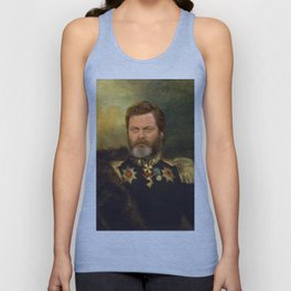 Nick Offerman Classical Painting Photoshop Unisex Tank Top