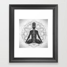 The Geometry of Life Framed Art Print