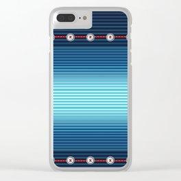 FUN•tastic Ocean ~ Colorful FUN & Friends Line Clear iPhone Case