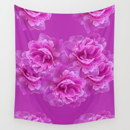 Purple Peony Flower Bouquet #1 #floral #decor #art #society6 Wall Tapestry