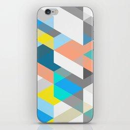 Bold Halequin iPhone Skin