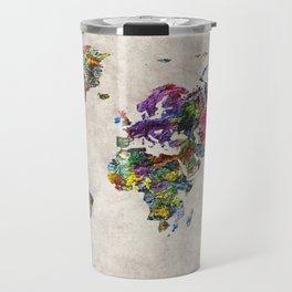 World Map 45 Travel Mug