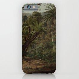 Ferntree Gully in the Dandenong Ranges by Eu von Guerard Date 1857  Romanticism  Landscape iPhone Case