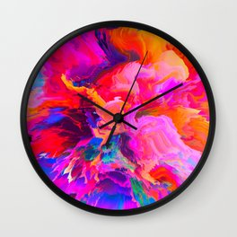 Theódōros (Abstract 11) Wall Clock
