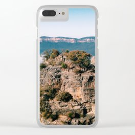 on top of the world Clear iPhone Case