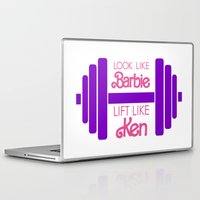 barbie Laptop & iPad Skins featuring Barbie by Free Specie