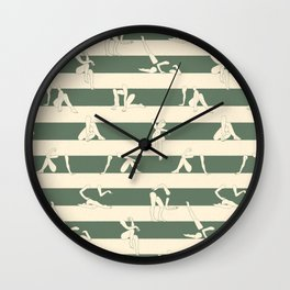 Leah 2 Wall Clock