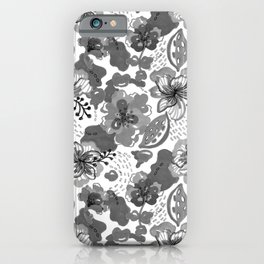Hand Drawn Floral 0026 iPhone Case