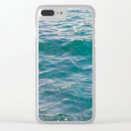 Calming Waters Clear iPhone Case