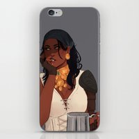 dragon age iPhone & iPod Skins featuring Isabela - Dragon Age 2 by maltairs