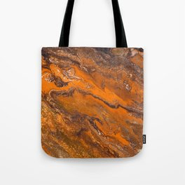Amber Fire Tote Bag
