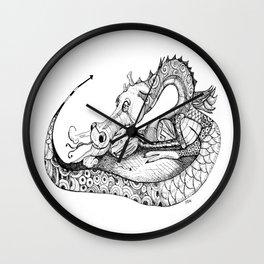 Dragon Eggs Wall Clock