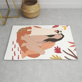 Mid Century Modern - Be Cosy With Your Best Friend Rug