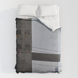Progress and Decay Comforters
