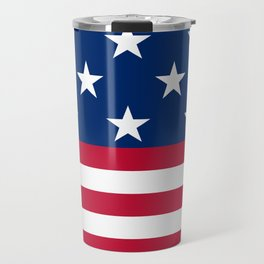US Flag Travel Mug