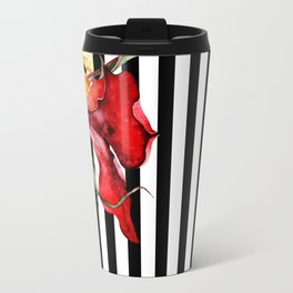 FLORA BOTANICA | stripes Travel Mug