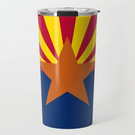 Arizona State Flag Travel Mug