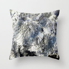 Super Sodalite! Throw Pillow