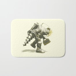 Daddy's Coming Home (Yellow) Bath Mat