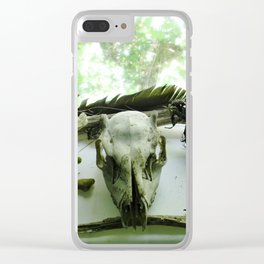Macabre Collection Clear iPhone Case